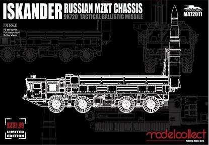 Picture of Russian Iskander 9K720 Tactical ballistic missile